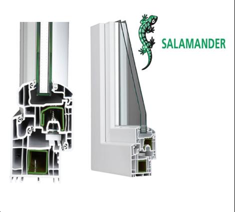 Salamander Stream Line 76 Facile Infissi Pomezia Roma