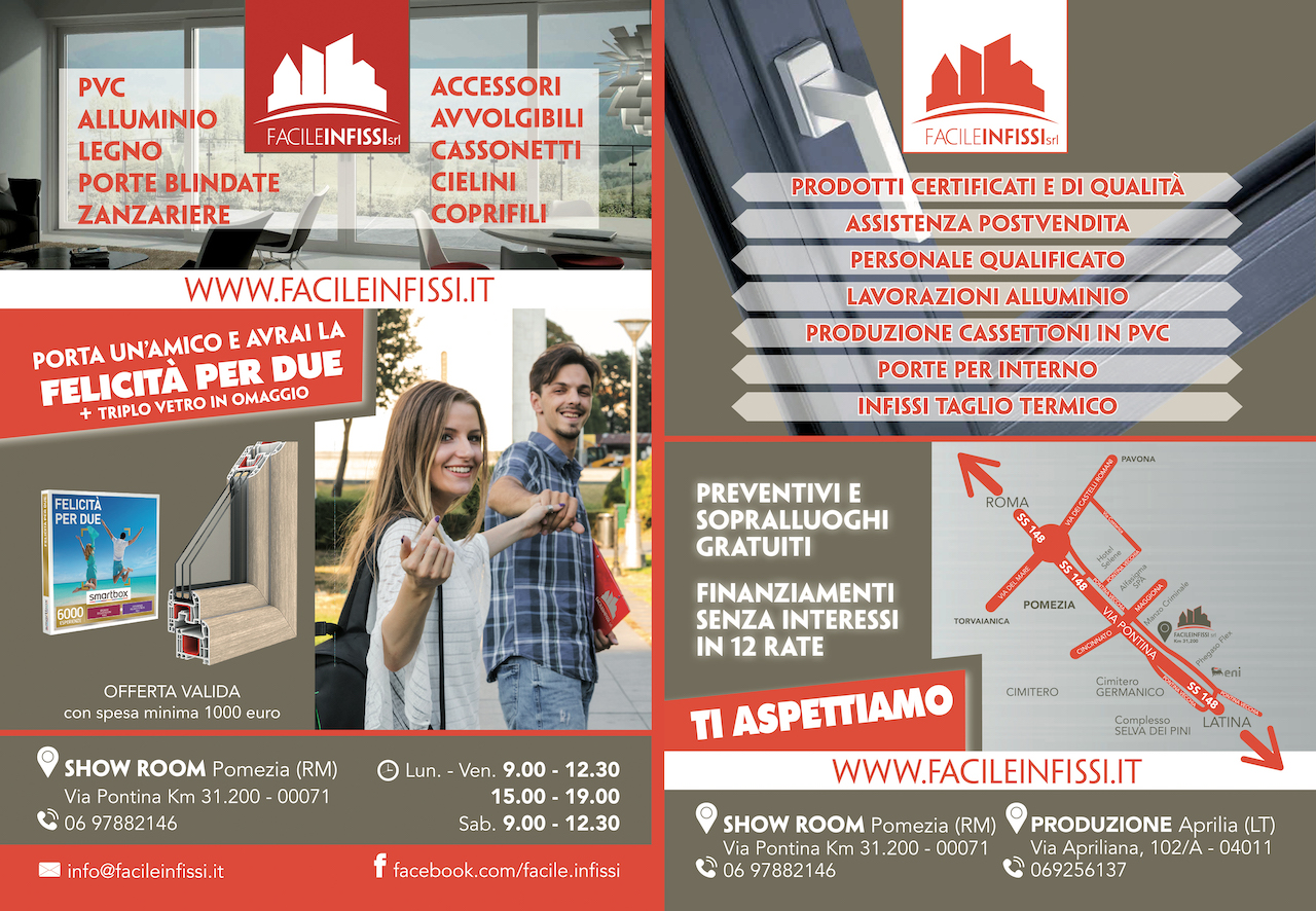 volantino Facile infissi 2019